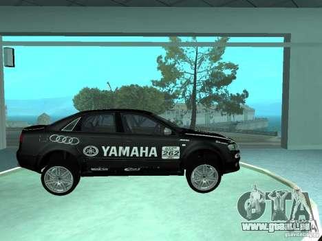 Audi RS4 pour GTA San Andreas salon