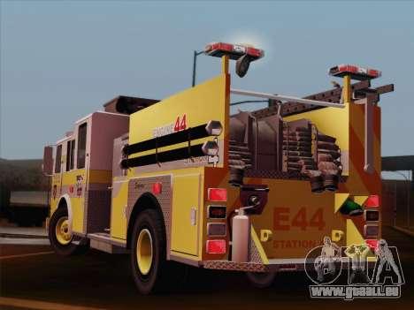 Seagrave Marauder II BCFD Engine 44 pour GTA San Andreas vue de dessus