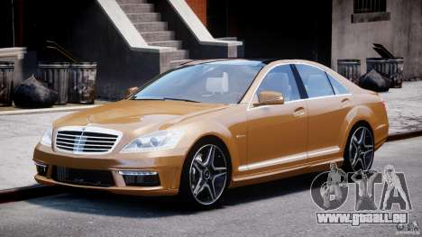 Mercedes-Benz S63 AMG [Final] pour GTA 4
