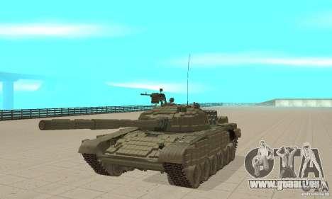 Panzer t-72 b für GTA San Andreas