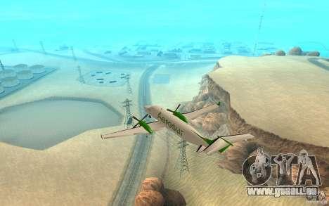 Beechcraft B1900D für GTA San Andreas linke Ansicht