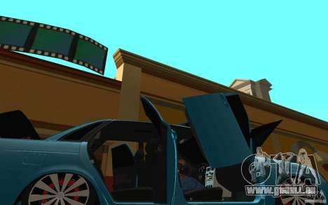 LADA 2170 Penza tuning pour GTA San Andreas vue de dessus