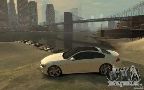 BMW M6 2010 v1.4 pour GTA 4 est une gauche