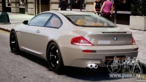 BMW M6 G-Power Hurricane pour GTA 4 est un droit