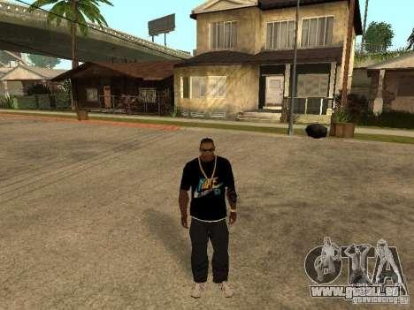 T-Shirt Nike für GTA San Andreas zweiten Screenshot