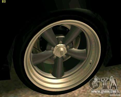 Hotring Racer Tuned pour GTA San Andreas roue