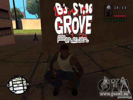 Nouveaux gangs de graffiti pour GTA San Andreas deuxième écran