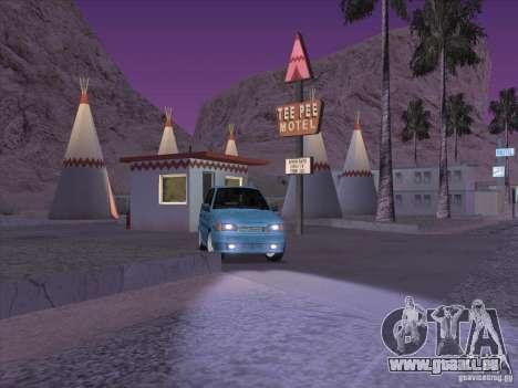 ВАЗ 2114-Casino für GTA San Andreas Rückansicht