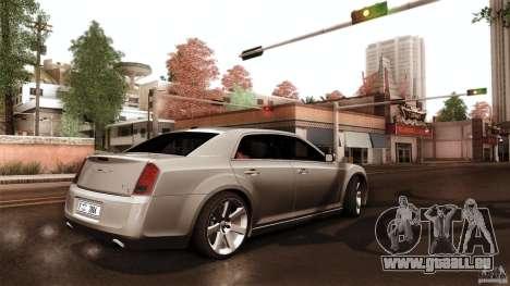 Chrysler 300C V8 Hemi Sedan 2011 für GTA San Andreas Innenansicht