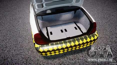 Ford Crown Victoria Karachi Traffic Police für GTA 4 Rückansicht