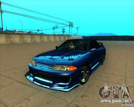 Nissan Skyline GT-R R32 1993 Tunable pour GTA San Andreas vue de dessous