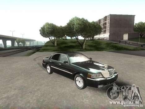 Lincoln Town car sedan pour GTA San Andreas