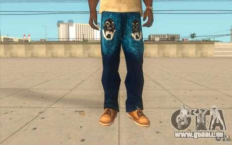 Remix-Evisu-Joker-Burberry Hose für GTA San Andreas