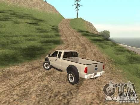 Ford Super Duty F-550 für GTA San Andreas rechten Ansicht