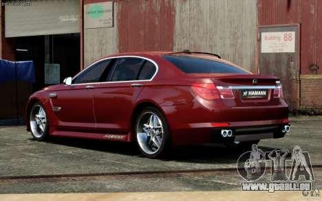 Menü- und Boot-Bildschirme BMW HAMANN in GTA 4 für GTA San Andreas sechsten Screenshot