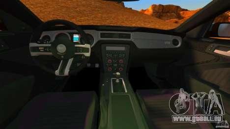 Ford Mustang Boss 302 2013 für GTA 4 Rückansicht