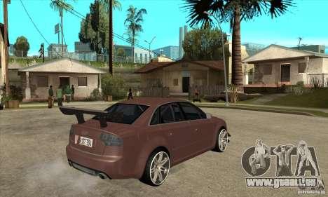 Audi RS4 2006 v2 für GTA San Andreas rechten Ansicht