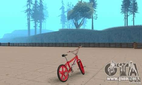 New BMX für GTA San Andreas linke Ansicht