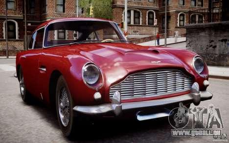 Aston Martin DB5 1964 pour GTA 4 est une vue de dessous