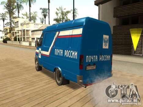 Courrier de Gazelle 2705 de Russie pour GTA San Andreas laissé vue