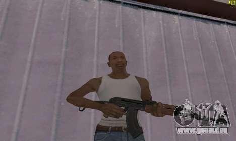 AKMS für GTA San Andreas zweiten Screenshot