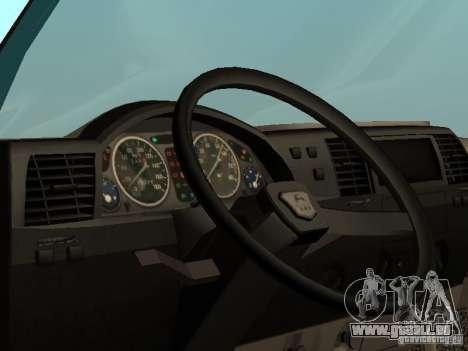 GAZ 33021 pour GTA San Andreas vue de droite