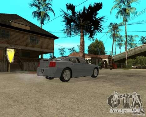 Dodge Charger SRT8 pour GTA San Andreas vue de droite