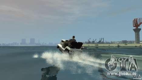 Airtug boat für GTA 4 Innenansicht