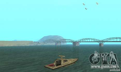 GTA III Ghost pour GTA San Andreas laissé vue