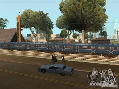Tube type 81-717 pour GTA San Andreas vue arrière