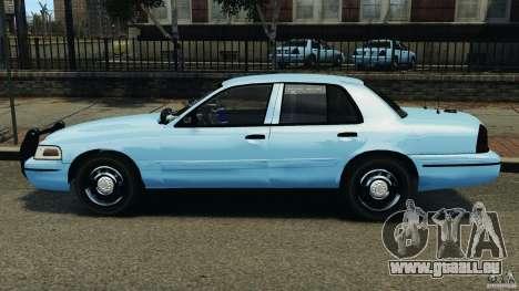 Ford Crown Victoria Police Unit [ELS] für GTA 4 linke Ansicht
