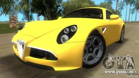 Alfa Romeo 8C Competizione für GTA Vice City