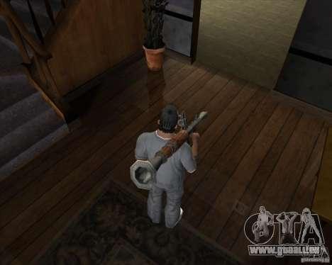 RPG 7 de Battlefield Vietnam pour GTA San Andreas troisième écran