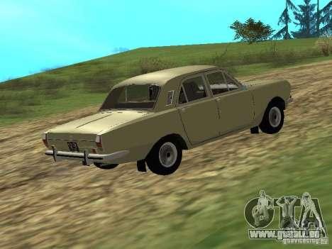 GAZ 24-01 pour GTA San Andreas sur la vue arrière gauche