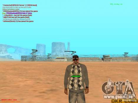 NV Goggles pour GTA San Andreas quatrième écran