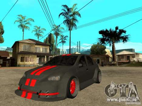 Dacia Logan Tuned für GTA San Andreas