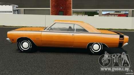 Dodge Dart GTS 1969 pour GTA 4 est une gauche