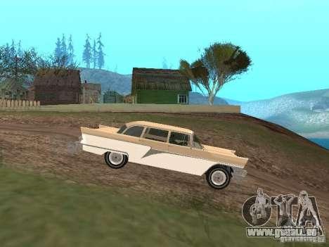 GAZ 13 pour GTA San Andreas laissé vue