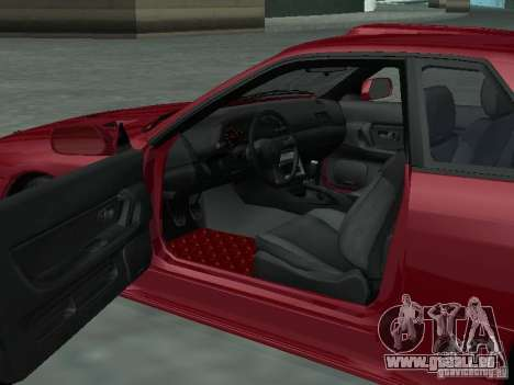 Nissan Skyline R32 Tuned für GTA San Andreas Innenansicht