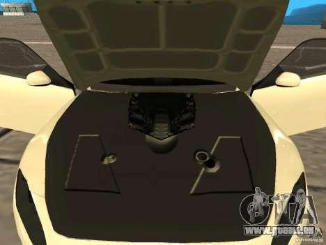 Maserati GranCabrio 2011 pour GTA San Andreas vue arrière