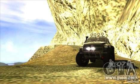 Dodge Ram All Terrain Carryer pour GTA San Andreas vue de côté