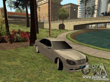 Mercedes-Benz S600 w200 für GTA San Andreas