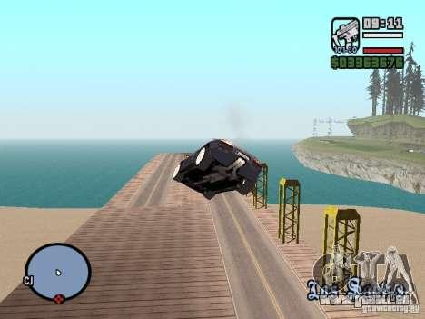 Voyage sur l'océan (version bêta) pour GTA San Andreas troisième écran