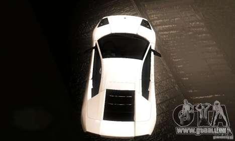 Lamborghini Murcielago für GTA San Andreas rechten Ansicht