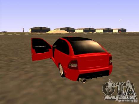 VAZ-2172-Sport für GTA San Andreas zurück linke Ansicht