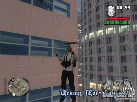Hemd mit Krawatte für GTA San Andreas fünften Screenshot