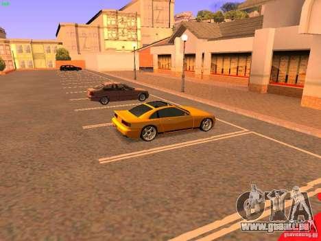 New Euros pour GTA San Andreas vue arrière