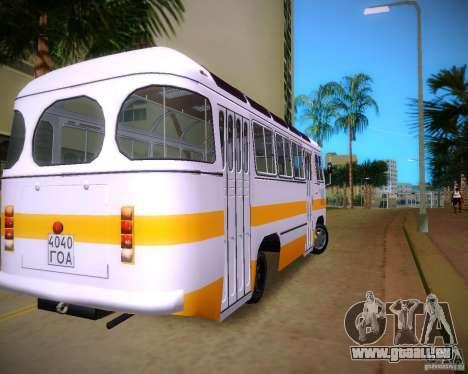 Paz-672 pour GTA Vice City sur la vue arrière gauche