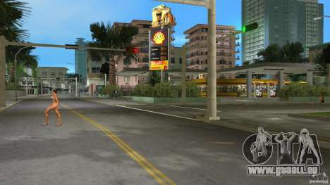 Shell Station für GTA Vice City zweiten Screenshot