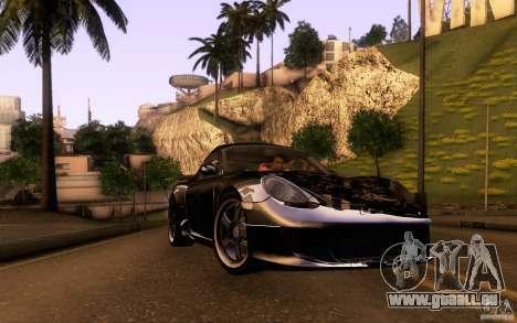 Ruf RK Coupe V1.0 2006 pour GTA San Andreas salon